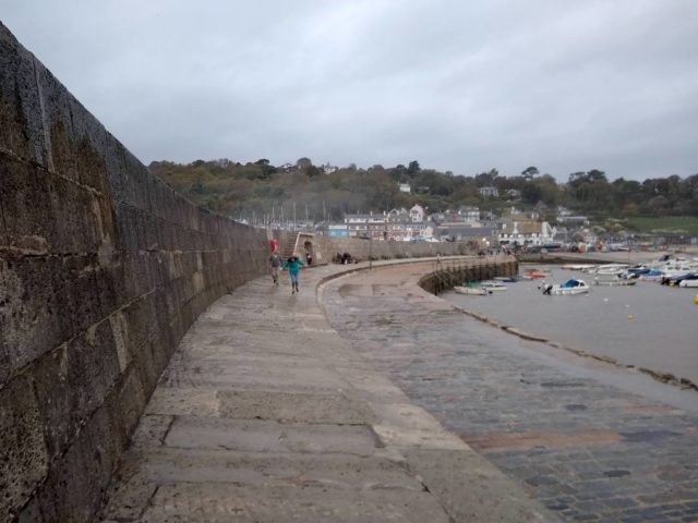 Lyme Regis, The Cobb, which, like East Cliff, has literary and film rights of its own.